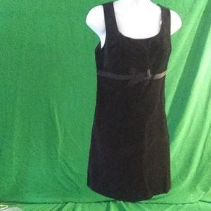 Behnaz sarafpour sz 5 black velvet mini dress